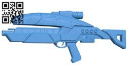 M8 Avenger gun B006252 download free stl files 3d model for 3d printer and CNC carving