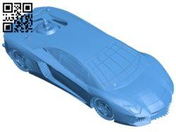 Mad max lamborghini B006295 download free stl files 3d model for 3d printer and CNC carving