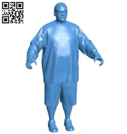 Man smith B005871 download free stl files 3d model for 3d printer and CNC carving