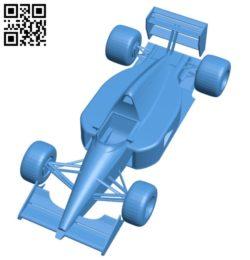McLaren MP4-6 Racecar – car B006155 download free stl files 3d model for 3d printer and CNC carving