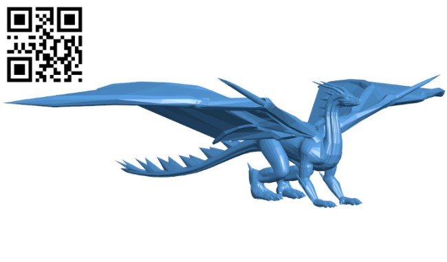 Medieval dragon B006102 download free stl files 3d model for 3d printer and CNC carving