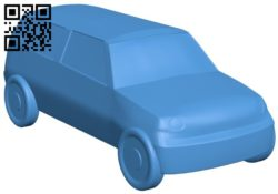 Mini clubman car B006289 download free stl files 3d model for 3d printer and CNC carving