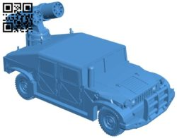Missile Truck B005974 download free stl files 3d model for 3d printer and CNC carving