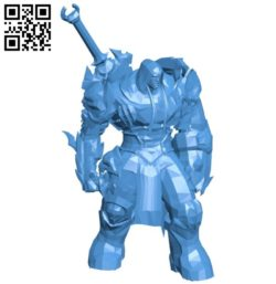 Mr Horseman of war B005835 download free stl files 3d model for 3d printer and CNC carving