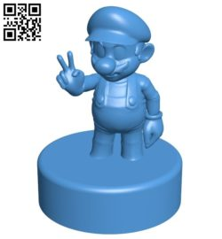 Mr Mario pipe top B006167 download free stl files 3d model for 3d printer and CNC carving