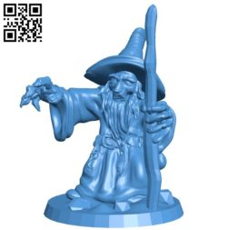 Mr Wizard B006227 download free stl files 3d model for 3d printer and CNC carving