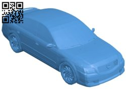 Nissan Altima Car B006176 download free stl files 3d model for 3d printer and CNC carving