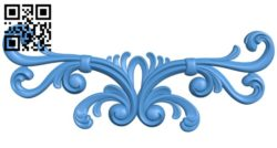 Pattern decor design A004312 download free stl files 3d model for CNC wood carving