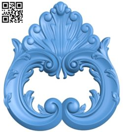 Pattern decor design A004338 download free stl files 3d model for CNC wood carving