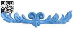 Pattern decor design A004340 download free stl files 3d model for CNC wood carving