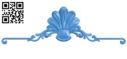 Pattern decor design A004345 download free stl files 3d model for CNC wood carving