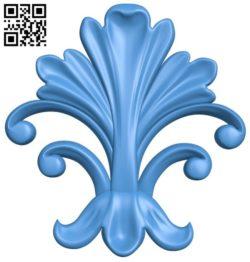 Pattern decor design A004358 download free stl files 3d model for CNC wood carving