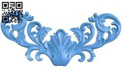 Pattern decor design A004360 download free stl files 3d model for CNC wood carving