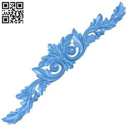 Pattern decor design A004374 download free stl files 3d model for CNC wood carving