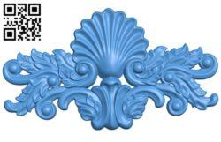 Pattern decor design A004375 download free stl files 3d model for CNC wood carving
