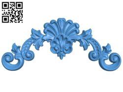 Pattern decor design A004376 download free stl files 3d model for CNC wood carving