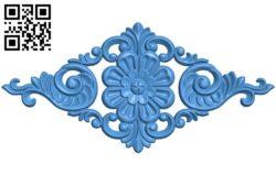 Pattern decor design A004377 download free stl files 3d model for CNC wood carving