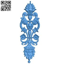 Pattern decor design A004378 download free stl files 3d model for CNC wood carving