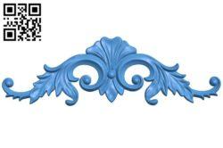 Pattern decor design A004379 download free stl files 3d model for CNC wood carving
