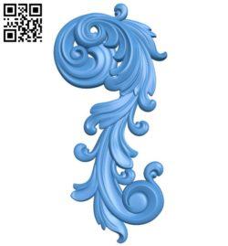 Pattern decor design A004390 download free stl files 3d model for CNC wood carving
