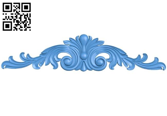 Pattern decor design A004393 download free stl files 3d model for CNC wood carving