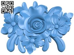 Pattern decor rose A004359 download free stl files 3d model for CNC wood carving