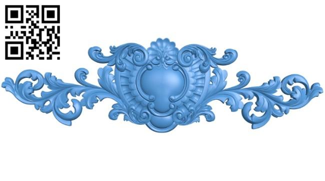 Pattern dekor design A004189 download free stl files 3d model for CNC wood carving