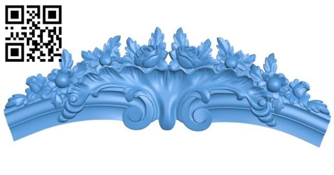 Pattern dekor design A004210 download free stl files 3d model for CNC wood carving