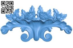 Pattern dekor design A004211 download free stl files 3d model for CNC wood carving