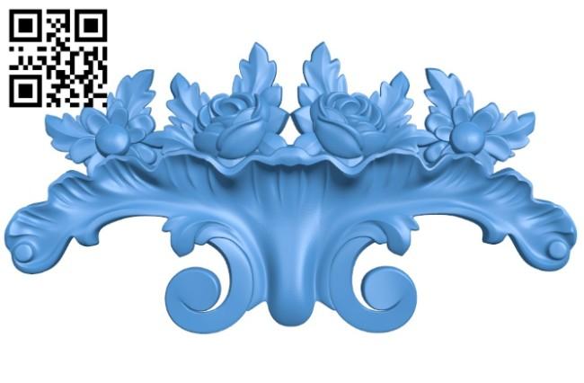 Pattern dekor design A004211 download free stl files 3d model for CNC wood carving