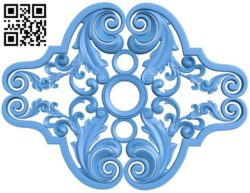 Pattern dekor design A004231 download free stl files 3d model for CNC wood carving