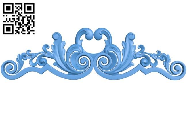 Pattern dekor design A004232 download free stl files 3d model for CNC wood carving