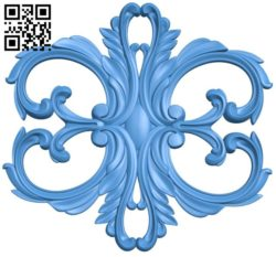 Pattern dekor design A004238 download free stl files 3d model for CNC wood carving