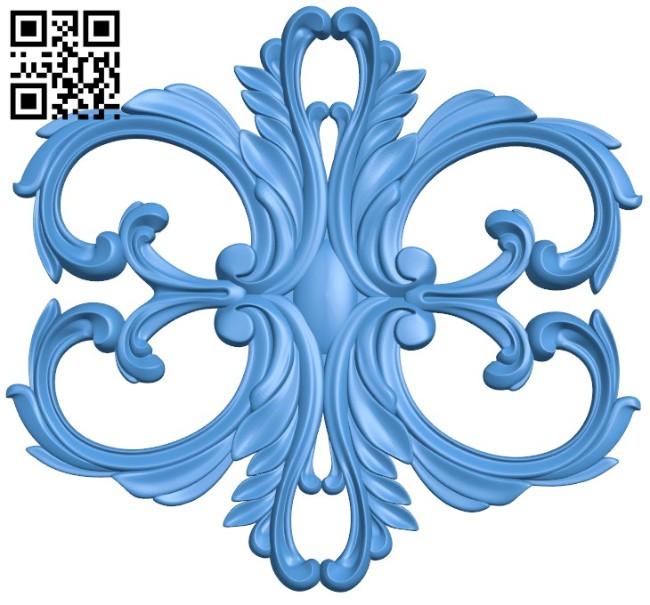 Pattern dekor design A004238 download free stl files 3d model for CNC wood carving