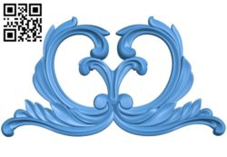 Pattern dekor design A004240 download free stl files 3d model for CNC wood carving
