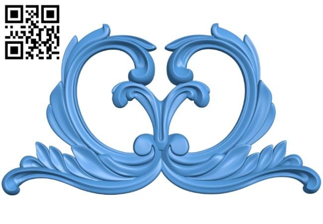 Pattern dekor design A004240 download free stl files 3d model for CNC wood carving