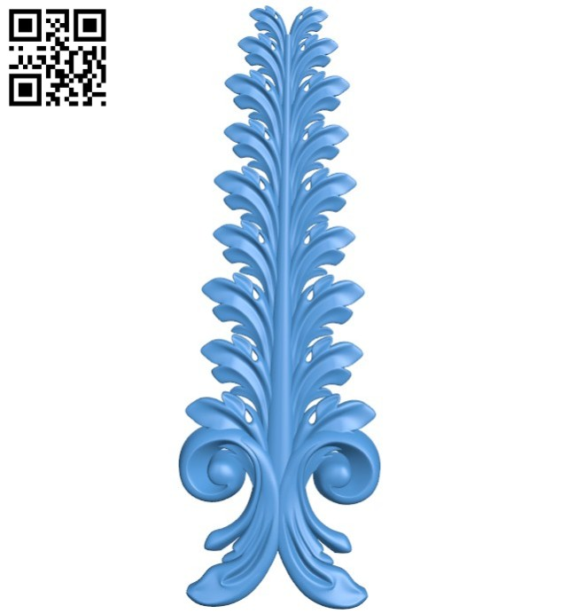 Pattern dekor design A004242 download free stl files 3d model for CNC wood carving