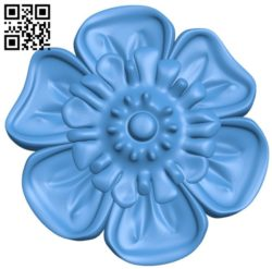 Pattern dekor flower A004335 download free stl files 3d model for CNC wood carving