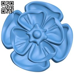 Pattern dekor flower A004337 download free stl files 3d model for CNC wood carving