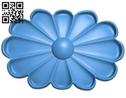 Pattern dekor flower A004362 download free stl files 3d model for CNC wood carving