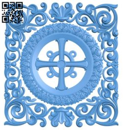 Pattern dekor square A004198 download free stl files 3d model for CNC wood carving