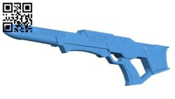 Phaser rifle B006184 download free stl files 3d model for 3d printer and CNC carving