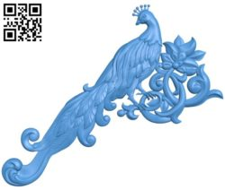 Phoenix pattern A004203 download free stl files 3d model for CNC wood carving