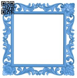 Picture frame or mirror A004234 download free stl files 3d model for CNC wood carving