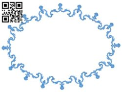 Picture frame or mirror A004327 download free stl files 3d model for CNC wood carving