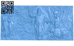 Picture garden of the lord A004219 download free stl files 3d model for CNC wood carving