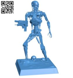 Robot T800 B006086 download free stl files 3d model for 3d printer and CNC carving
