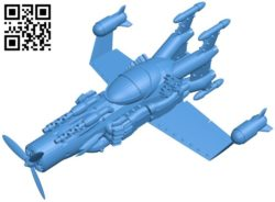 Ship steam plane B005958 download free stl files 3d model for 3d printer and CNC carving