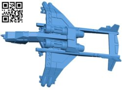 Sky Talon planes B005903 download free stl files 3d model for 3d printer and CNC carving