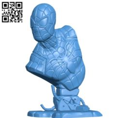 Spider man B006263 download free stl files 3d model for 3d printer and CNC carving